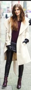 Cream coat 15