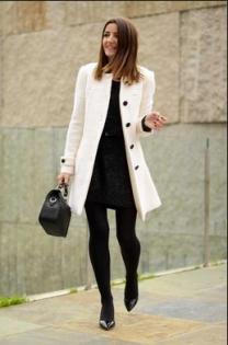 Cream coat 16