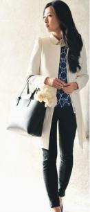 Cream coat 9